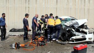 Hatay'da trafik kazası: 3 ölü