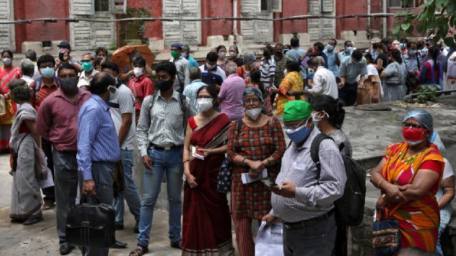 Hindistanda vaka sayısı son 10 haftanın en düşüğü