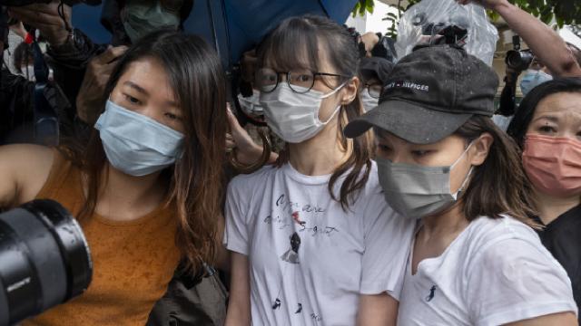 Hong Kongda demokrasi yanlısı aktivist Chow serbest bırakıldı
