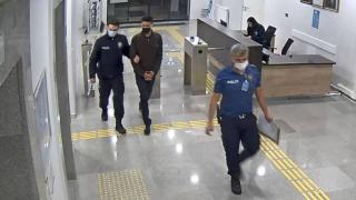 Cezaevinden izinli çıktı, Almanya'ya kaçmak isterken yakalandı