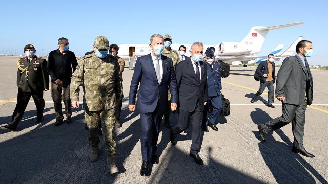 Bakan Akar: Libyanın yanında olacağız