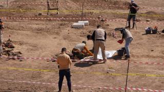 Musul'da 500 kişilik iki toplu mezar bulundu