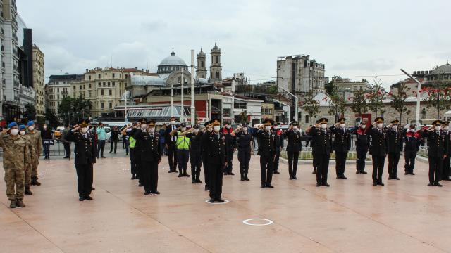 İstanbulda Jandarma Teşkilatının 182. kuruluş yıl dönümü kutlandı