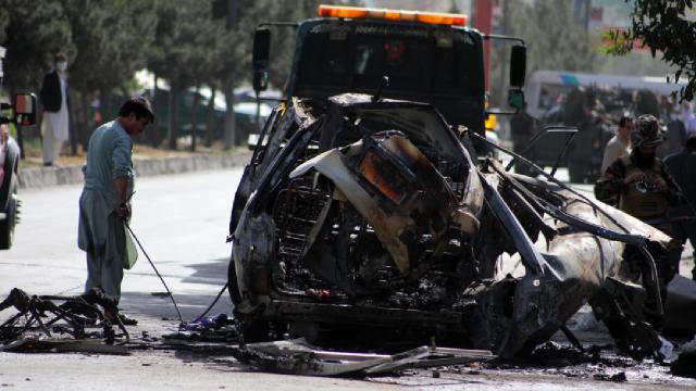 Kabilde peş peşe 2 bombalı saldırı: 7 ölü