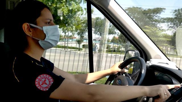 Manisa'da ambulanslar kadın şoförlere emanet