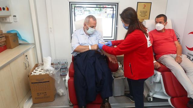 İstanbulda 41 noktada kan bağışı seferberliği başlatıldı