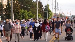 Kanada'da teröre kurban giden Müslüman aile anıldı