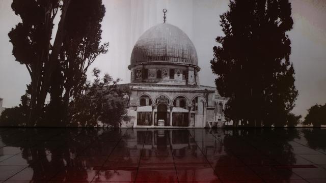 """""""Geçmişten Bugüne Kudüs 360 Dijital Gösterimi"""" açıldı"""