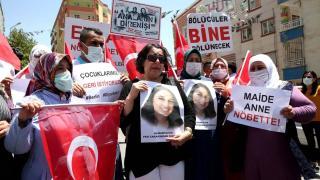 Kızı PKK tarafından kaçırılan Türemiş'ten Diyarbakır Anneleri'ne ziyaret