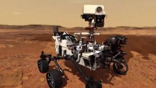Mars'taki keşif aracından 360 derecelik panorama