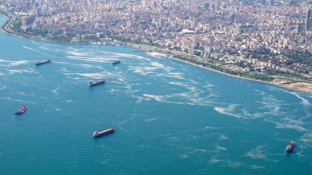 Marmarada 4 günde 1197 metreküp müsilaj temizlendi