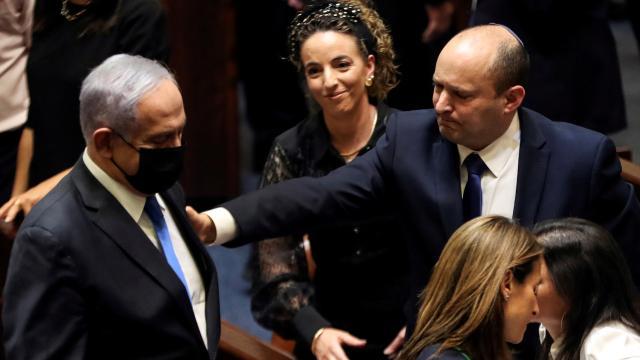 İsrailde Netanyahu başbakanlık görevini Bennette devretti