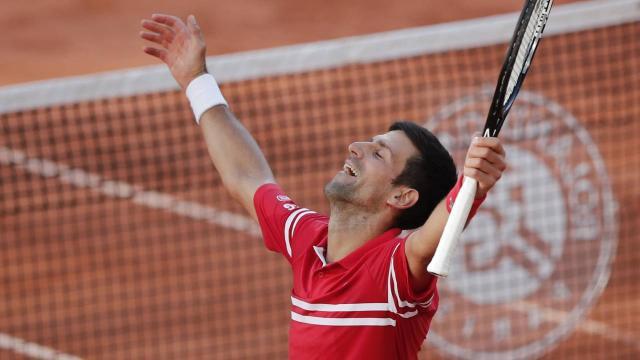 Fransa Açıkta şampiyon Novak Djokovic