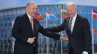Cumhurbaşkanı Erdoğan, Biden görüşmesi sona erdi