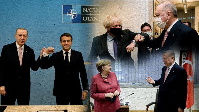 Erdoğanın NATO temasları