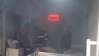 Çanakkale'de büfe yangını: 2 yaralı