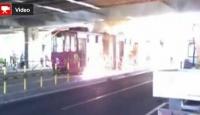Elektrik Arızası Tramvayı Böyle Yaktı