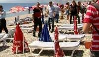 Ünlü Konyaaltı Plajında Patlama