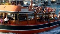 Marmaris'te Tur Teknesinde Yangın