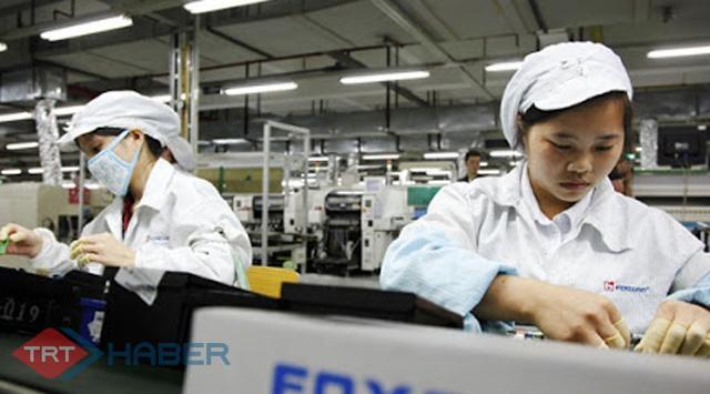 Çinin elektronik ürün ticareti arttı