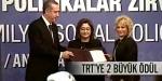 TRTye iki ödül birden