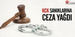 KCK sanıklarına ceza yağdı