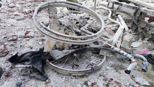 Afrinde bombalı araçlı saldırı: 1 ölü, 2 yaralı