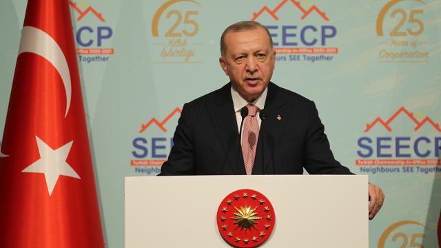 Cumhurbaşkanı Erdoğan: Siyasi sorunların diyalogdan başka çözümü yok