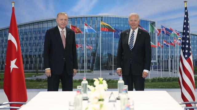 Erdoğanın ABD diplomasisi: NATOda gördük ki Türkiye çok merkezi role sahip