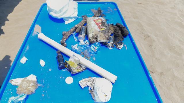 Mersinde deniz dibi temizliği yapıldı