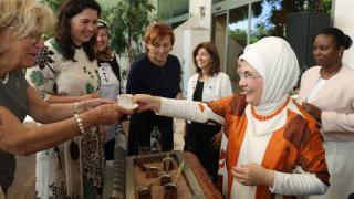 """Emine Erdoğan'dan """"Antalya Diplomasi Forumu"""" paylaşımı"""