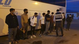 Erzincan'da 9 düzensiz göçmen yakalandı