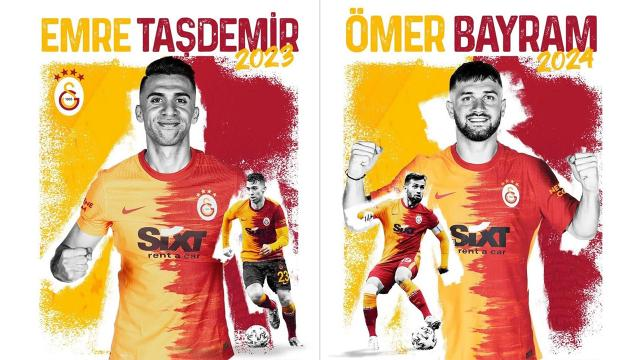 Galatasaray, Ömer Bayram ve Emre Taşdemirin sözleşmelerini uzattı