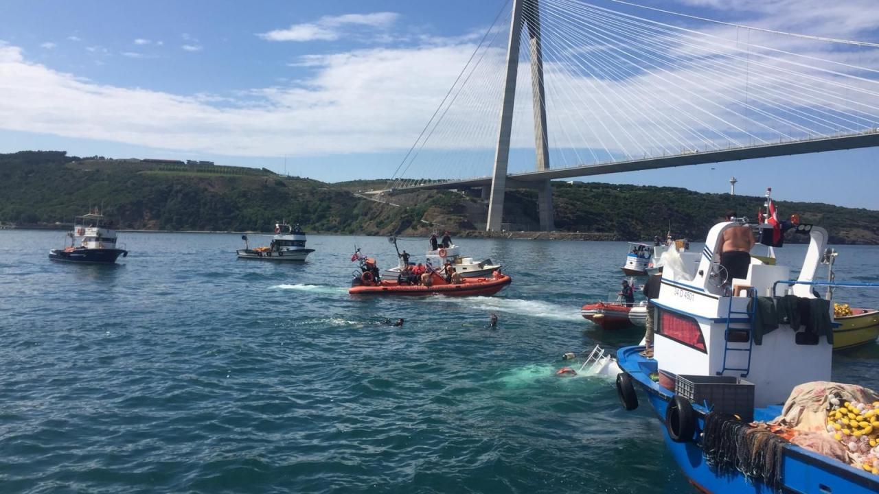 İstanbul'da gemi kazası: 2 ölü