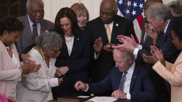 ABDde köleliğin kaldırıldığı 19 Haziran resmi tatil oldu