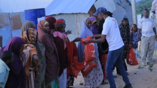 Türk Kızılay, Somali'de binlerce ihtiyaç sahip aileye et dağıttı