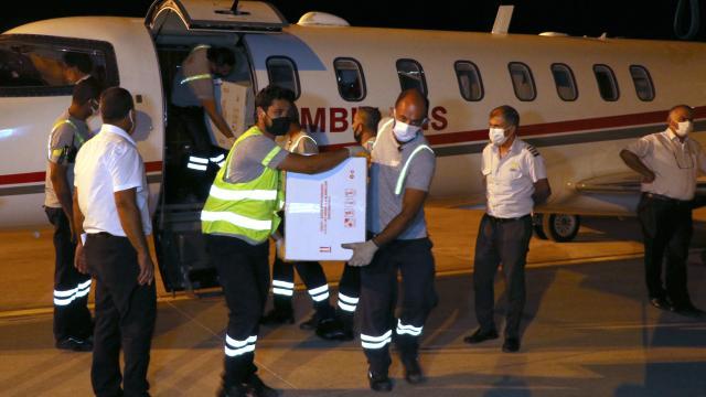 Türkiyeden KKTCye 26 bin doz aşı gönderildi