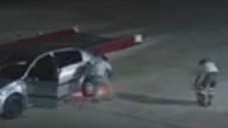 Faciayı benzin istasyonu çalışanları önledi