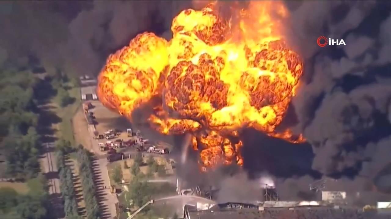 ABD'de kimyasal madde tesisinde patlama