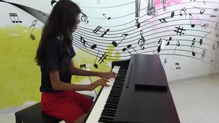 Küçük piyanistten büyük başarı