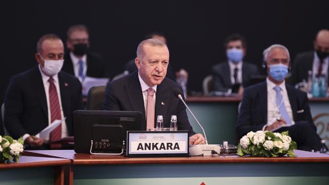 Erdoğandan ABye: Tam üyelik mücadelemizin artık neticelendirilmesini istiyoruz