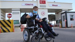 Suriyeli Muhammed tedavi için Türkiye'de