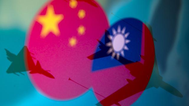 Çinin savaş uçakları Tayvan hava sahasını ihlal etti