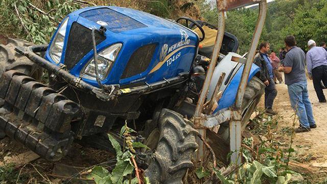 Aydında traktör kazası: 1 ölü