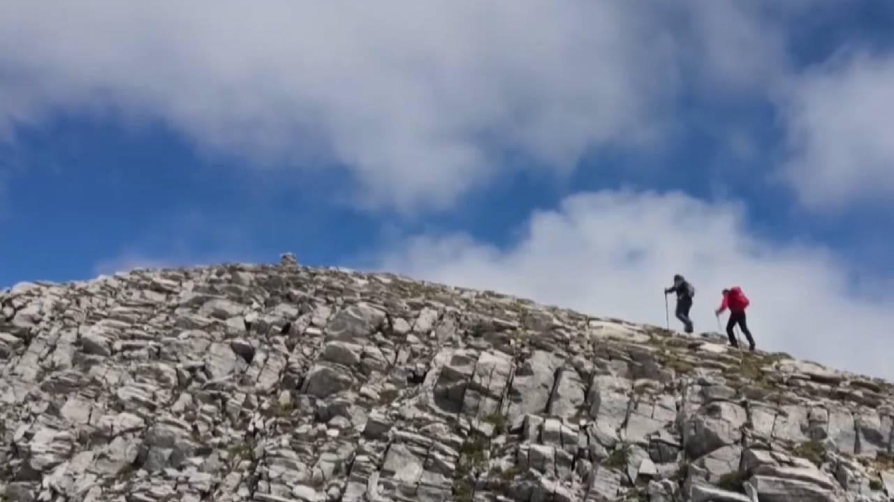 Uludağ'ın zirvesine dronlu yolculuk
