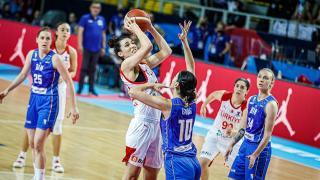 A Milli Kadın Basketbol Takımı Bosna Hersek'e yenildi