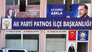 AK Parti Patnos İlçe Başkanlığı'na saldırı girişimi: 6 gözaltı