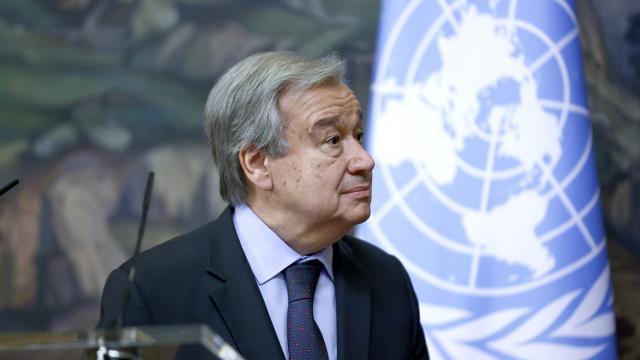 Antonio Guterres ikinci kez BM Genel Sekreteri