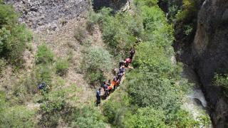 Karabük'te kayıp belediye işçisi için arama çalışması başlatıldı