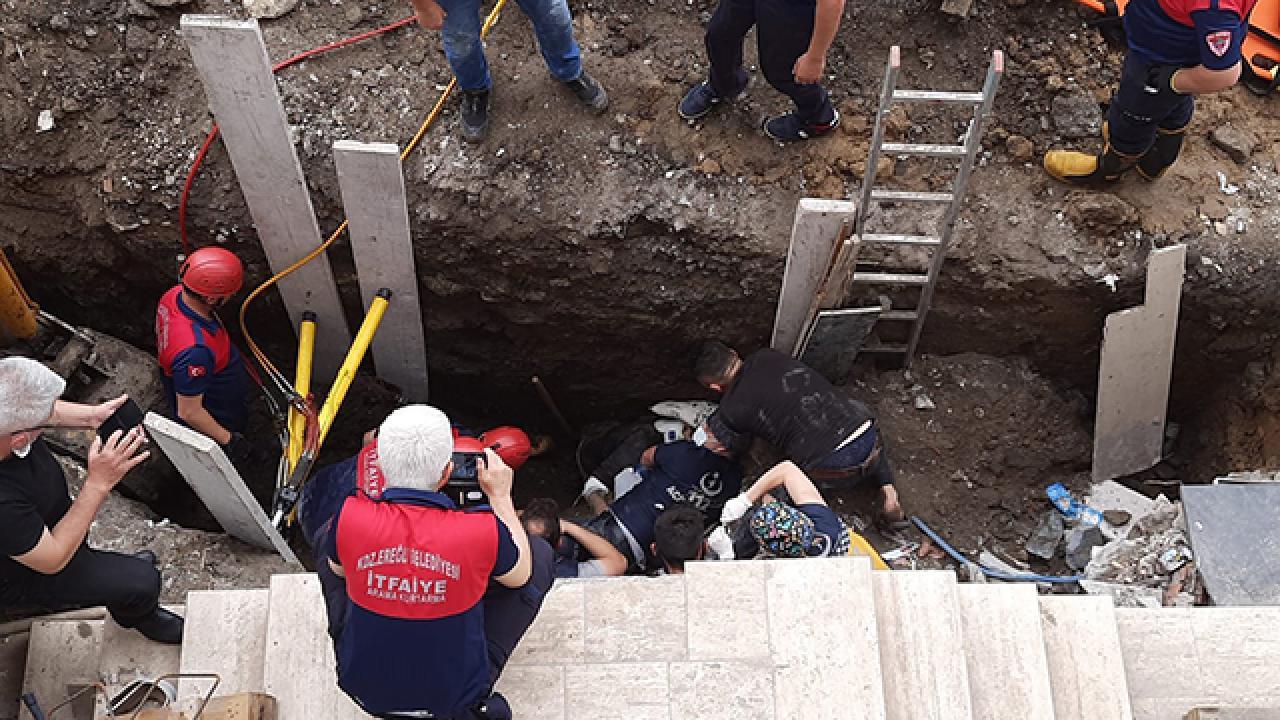 Zonguldak'ta yurt inşaatında göçük: Gönüllü astsubay hayatını kaybetti